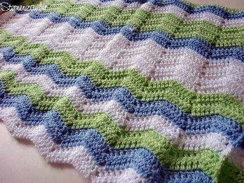 Sternenzauber**: Ripple Blanket