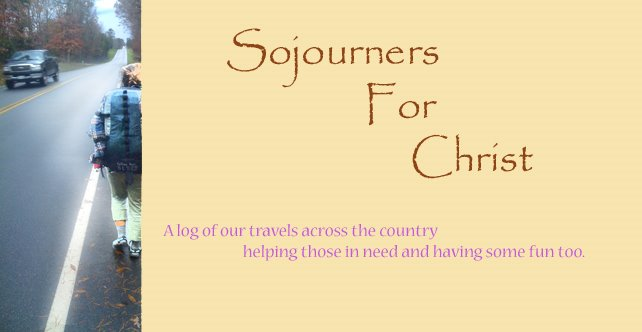 Sojourners for Christ