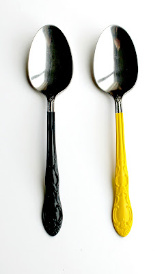 creatively christy: Colored Spoons Tutorial