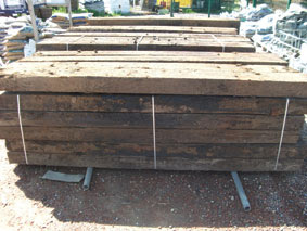 Chesters grove railway sleepers for sale in county durham Raised ponds for sale