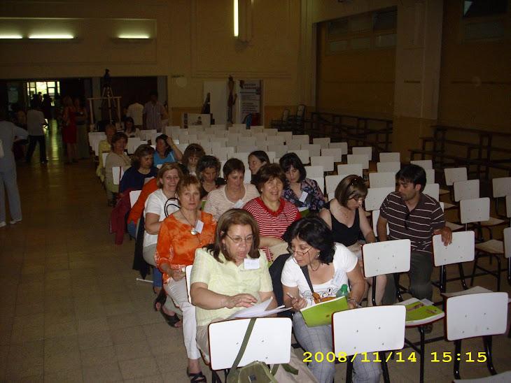 Participación de Quipus en el Segundo Encuentro de Ciudades Lectoras. Buenos Aires (Argentina).