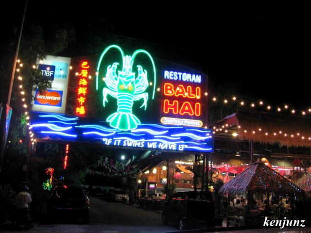 Junning Into The Walks Of Ken Restaurant Bali Hai Seafood Market