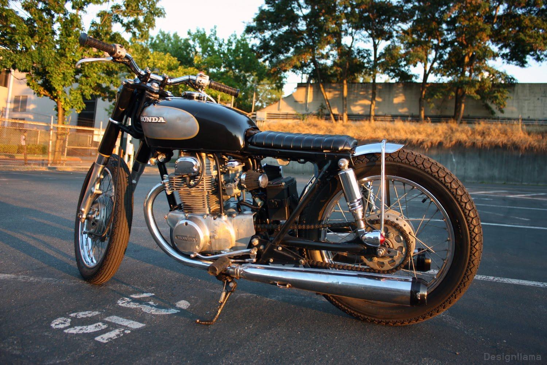 The design llama  My New Toy 1973 Honda CB 350