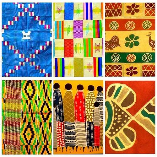 Alegr a y color el colorido de las telas africanas - Telas africanas barcelona ...