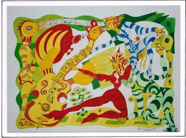 Alegr a y color otto cavalcanti for Caratulas de artes plasticas para secundaria