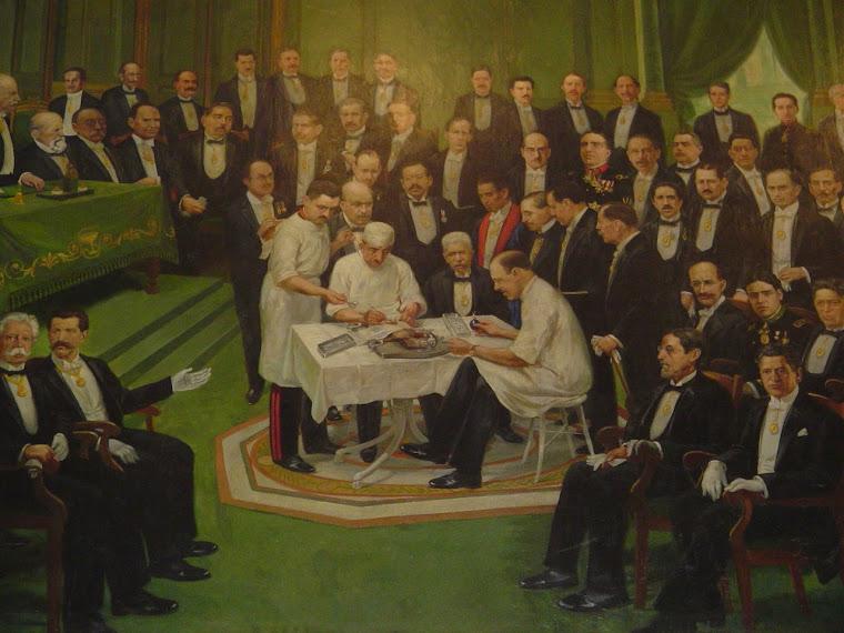 Vestíbulo de la Academia Nacional de Medicina