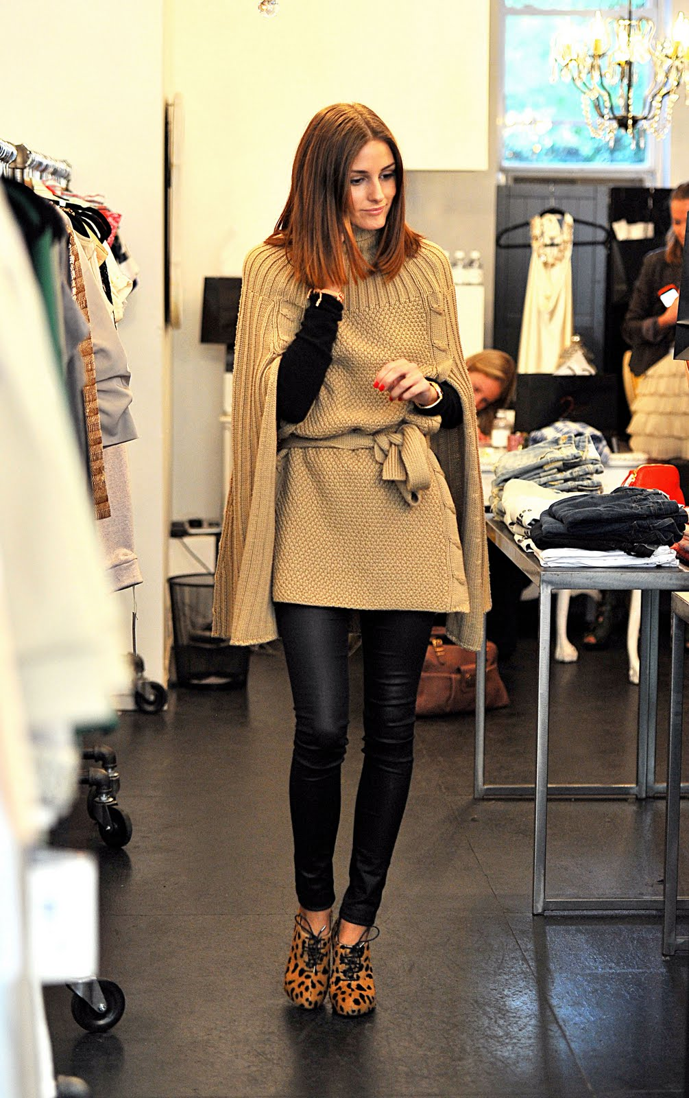 olivia palermo's style: Classic Camel