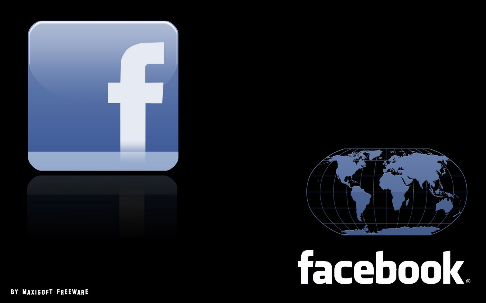 Facebook Wallpaper by maxisoftfreeware