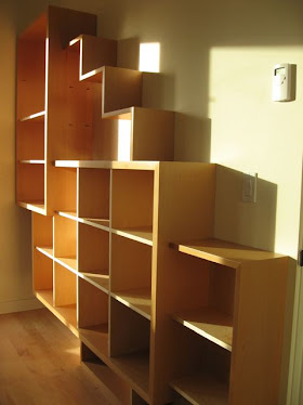 Shelving for Books and Art