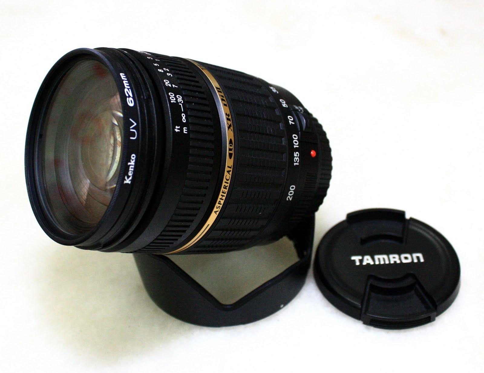EF-S Canon telephoto lens 18-200mm