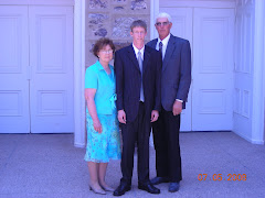 Regan with his Grandparents John Kay and Ann Hansen