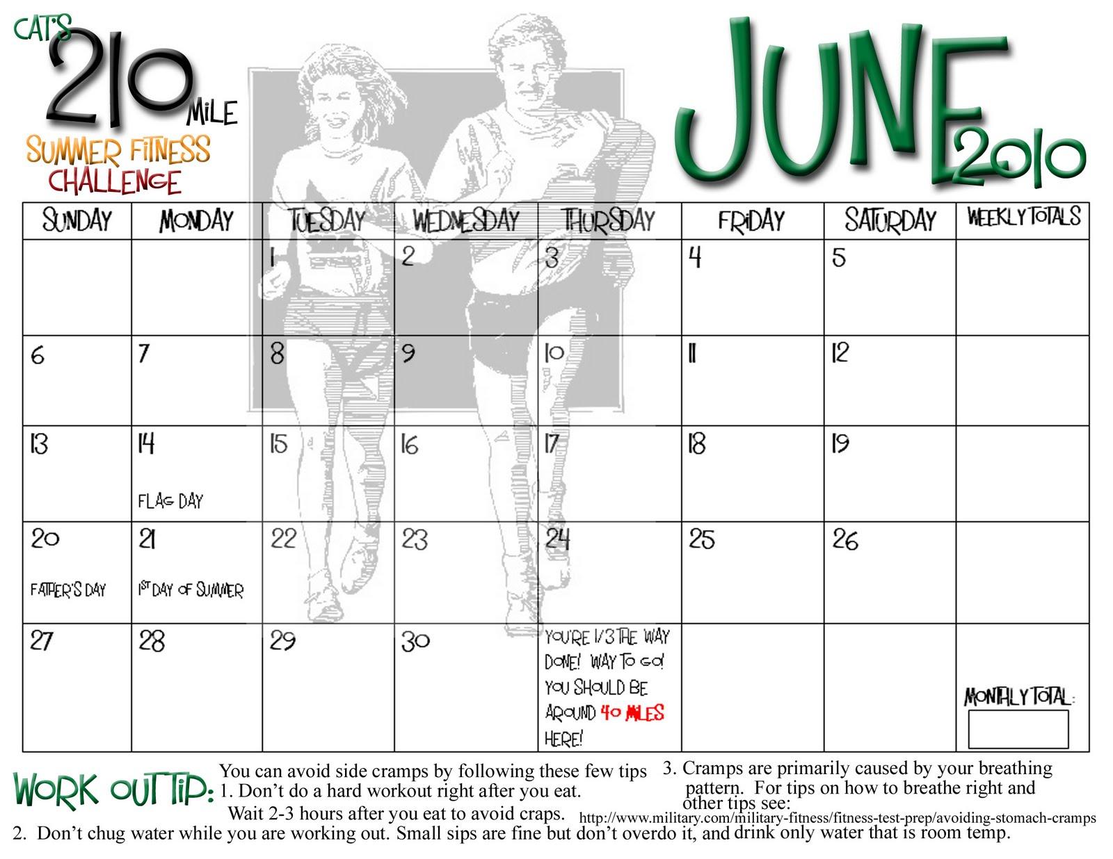 Weight Loss Calendar Print Out | Calendar Template 2016