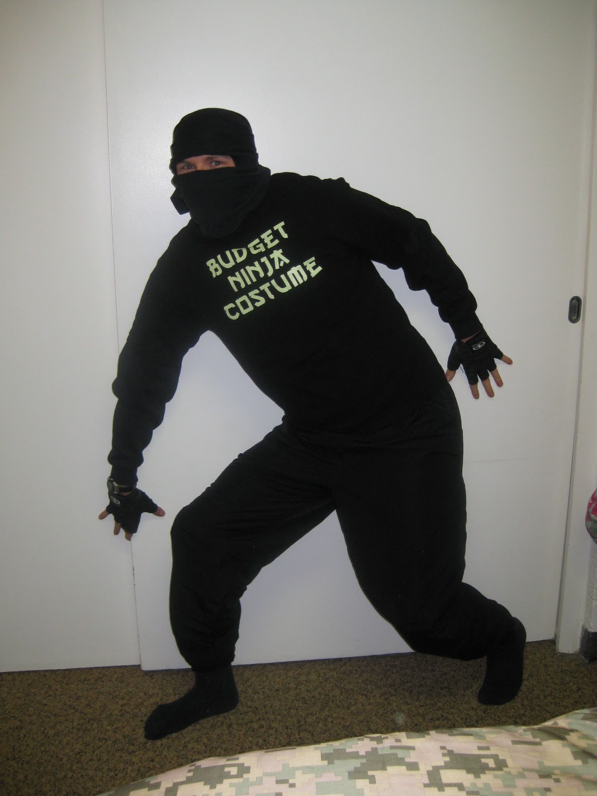 Gallery For gt How To Make A Homemade Ninja Costume