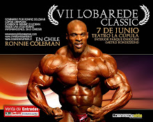 Ronnie coleman en chile