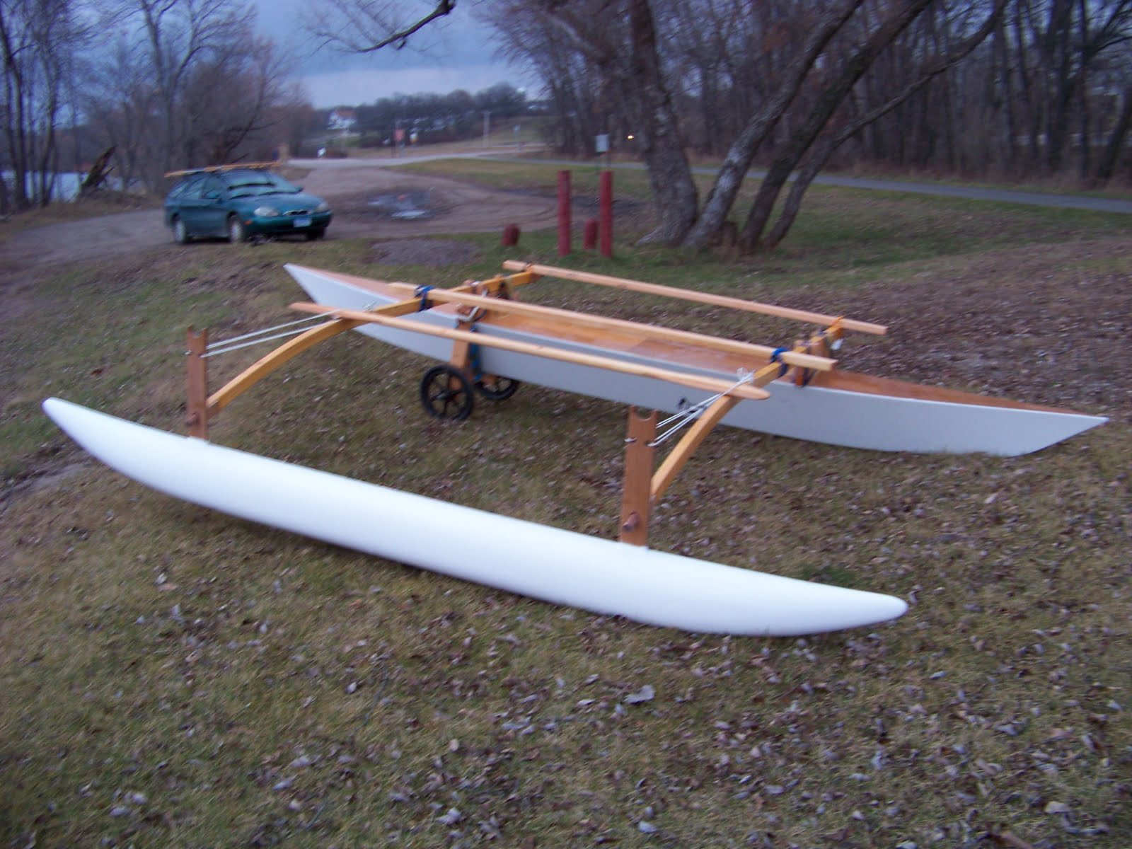 C Lion Outrigger Canoe Doug Weir's...