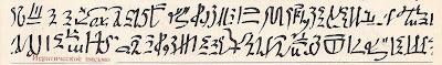 Иератическое письмо. Библиографическая служба