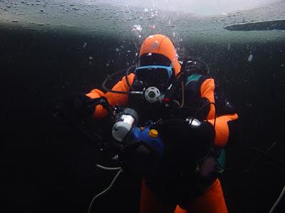 Дайвинг подледный, Финляндия, частный гид, экскурсии, ice-diving