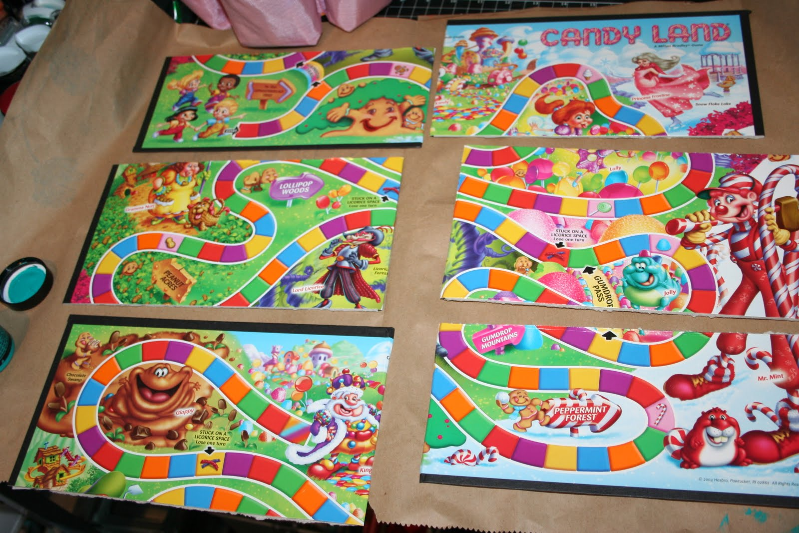 dora candyland board game instructions