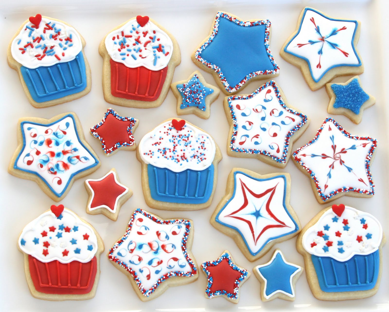 Star Sugar Cookie Designs