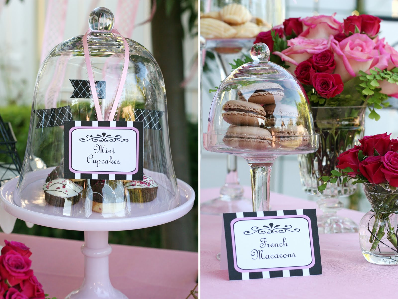 free printable french party labels glorious treats
