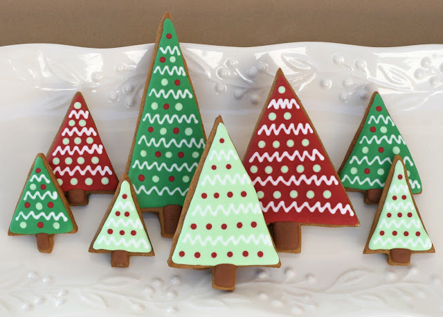 Christmas tree cookies - Tesco