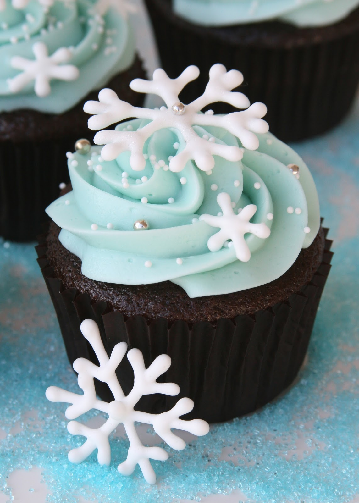 snowflake wedding cupcakes glorious treats