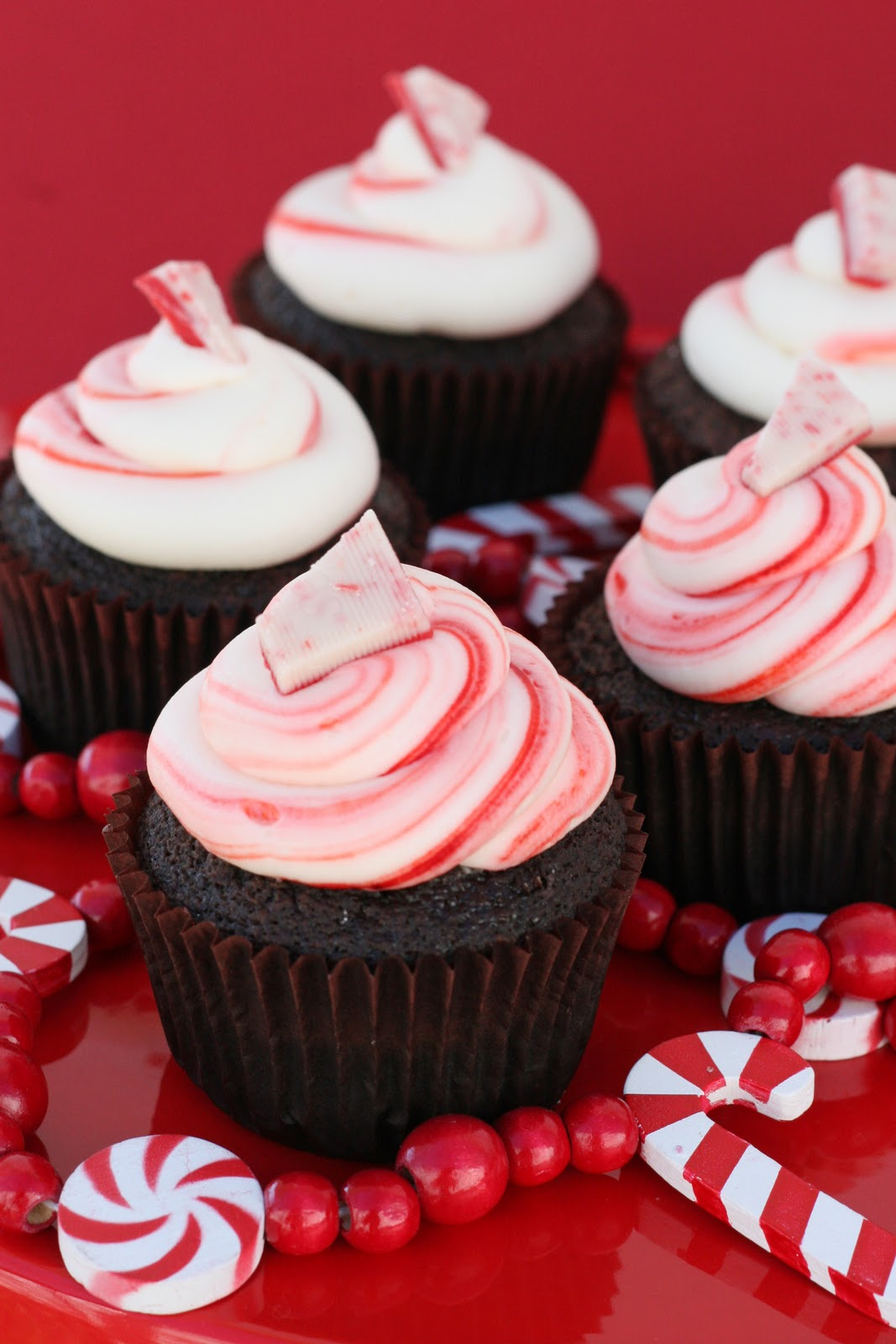 Chocolate Peppermint Cupcakes – Glorious Treats