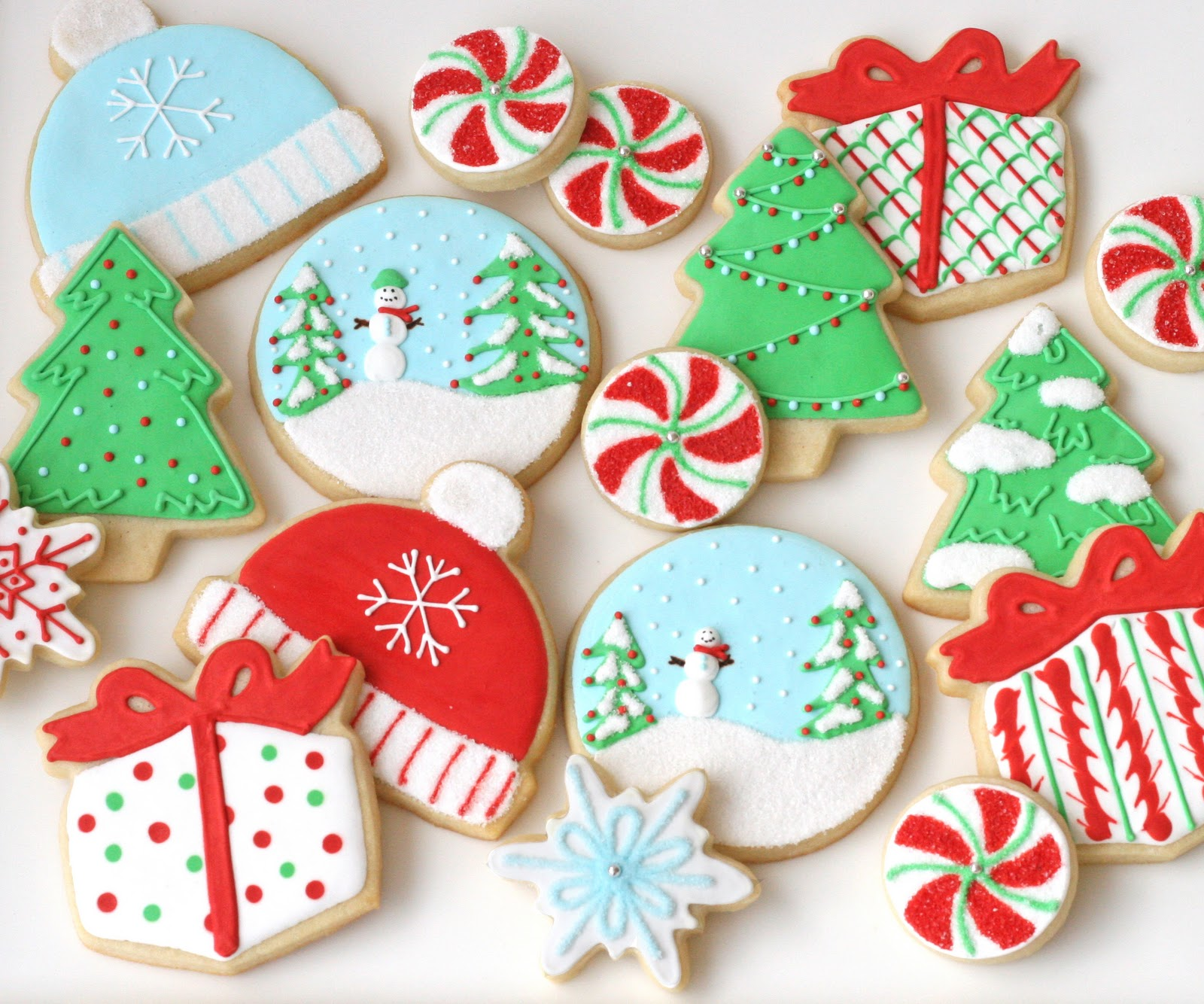 christmas cookies galore - Decorated Christmas Sugar Cookies