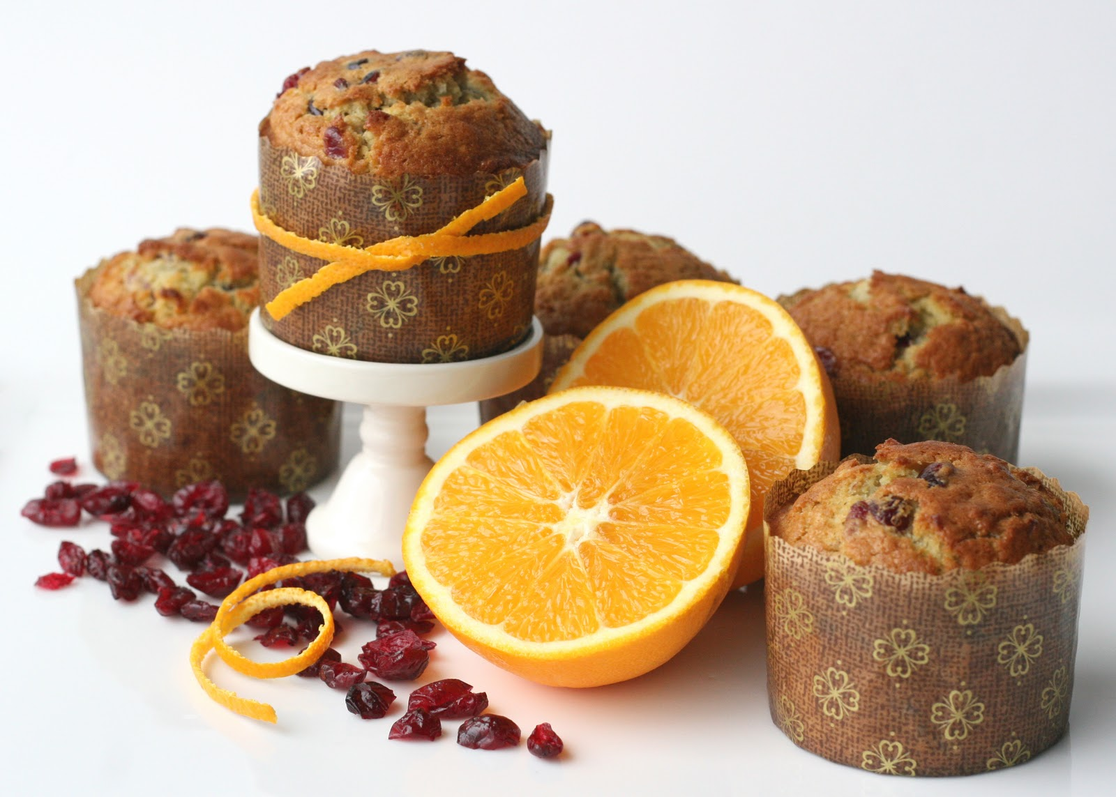 wallpaper trends: Cranberry-Orange Muffins {Delicious Recipe}