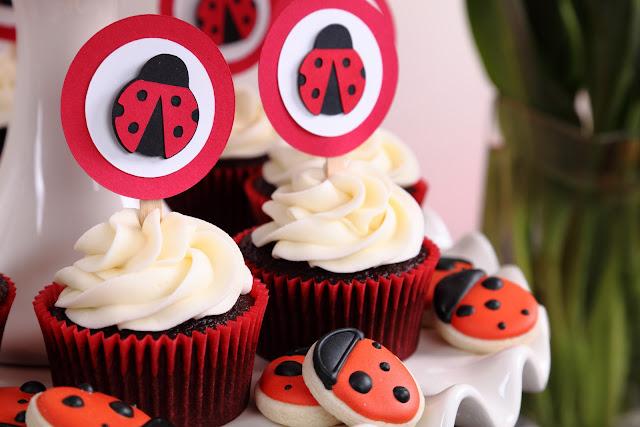 Ladybug Party Desserts