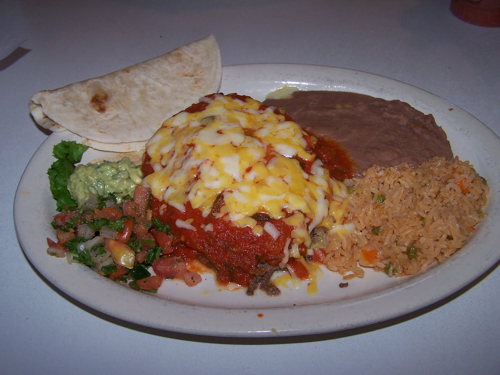 About Life In The Texas Hill Country: With Respect To Mexican Food, I'm Fickle