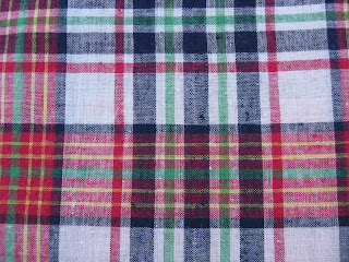 Plaid Country Fabric