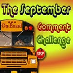 The September Comment Challenge