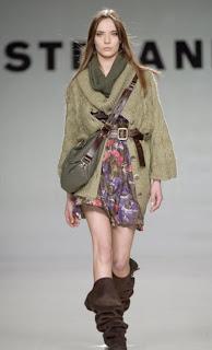 Stefanel Çiçekli Elbise Modelleri