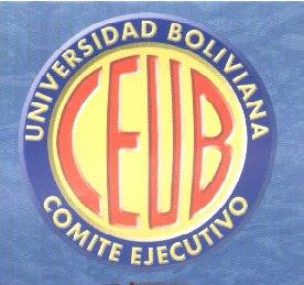 Logo de la Universidad Boliviana del Conite Ejecutivo