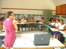 Oficina Pedagógica na Escola Áurea Pires