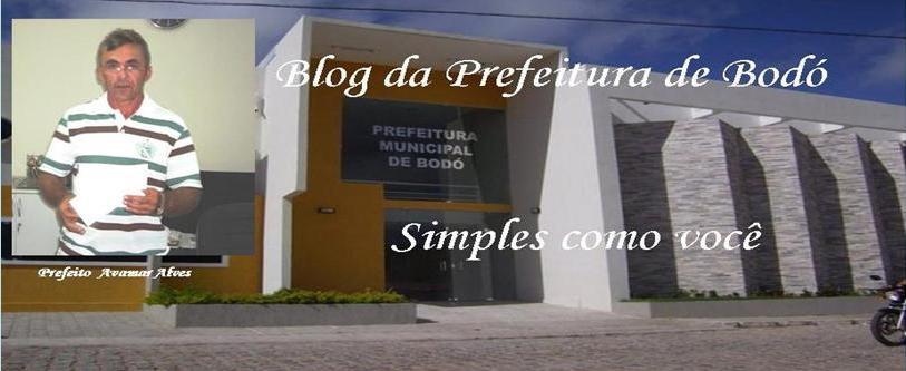 Blog da Prefeitura de Bodó/RN