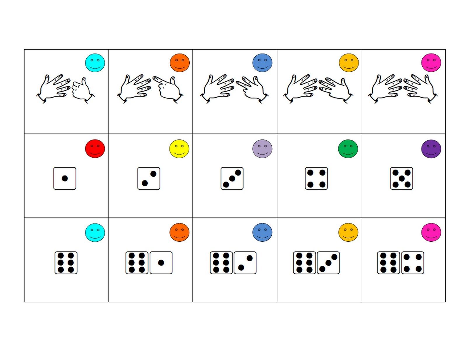 La classe de Laurène: Le memory des nombres
