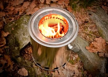 Journey Of Bush Craft How To Make A Simple Wood Gas Stove