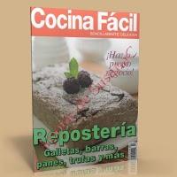 Cocina facil – Reposteria, Galletas, barras, panes