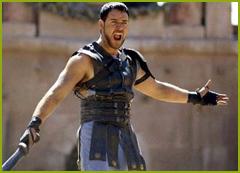Maximus Decimus Meridius El Hispano, protagonista de la película Gladiator, fue un general romano, nacido en Merida, que vivió a finales del siglo II.