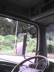 Na boléia do caminhão!