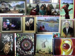 Exposição de esculturas e pinturas