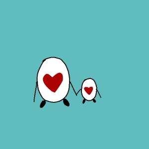 [Baby+eggheart]