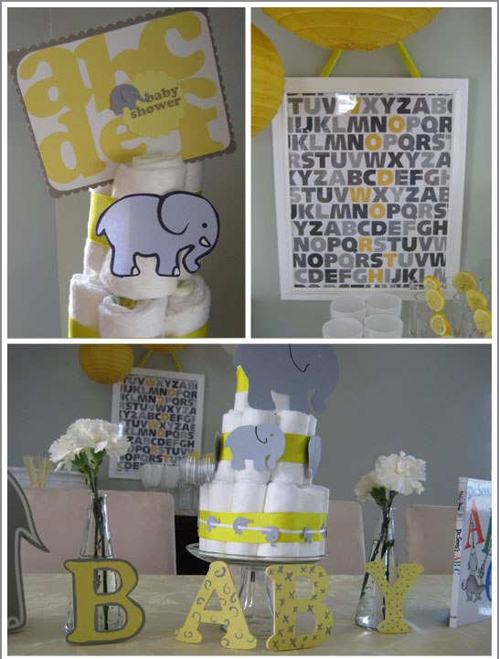 one lovely day alphabet party