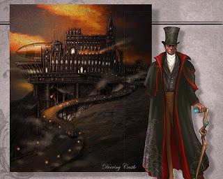 Gatheryn - steampunk mmo game