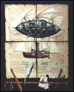 steampunk airship schematics
