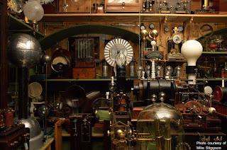 steampunk labratory