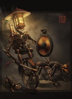 Steampunk Nightpatrol by James Ng
