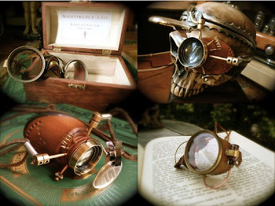 steampunk goggles & monocles